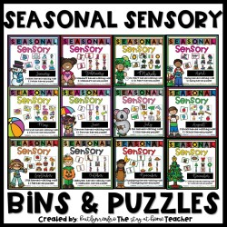 Seasonal Sensory - Year Long Bundle cover